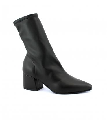 VSI Scarpe Donna Stivaletti tubolare tacco vegan shoes Made in Italy