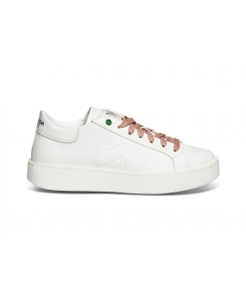WOMSH Vegan Scarpe Donna Sneakers Pellemela vegan shoes Made in Italy