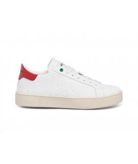 WOMSH Chaussures unisexes végétaliennes Sneakers Chaussures végétaliennes Pellemela Fabriquées en Italie