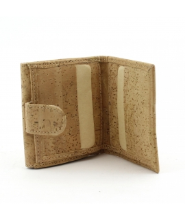 ARTELUSA Portafoglio Donna portamonete portacarte sughero vegan