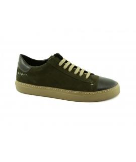 SCOTTI Boreca Sneakers Lacci Scamosciata Waterproof Puntale Made in Italy