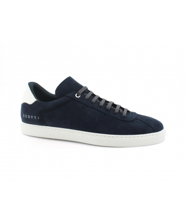 SCOTTI Vaio Sneakers Uomo Microfibra Effetto Nabuk Waterproof Made in Italy