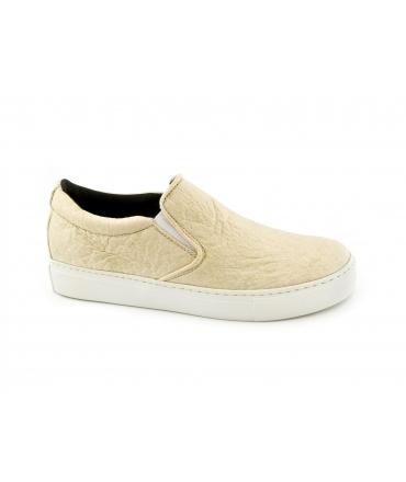 NAE Bare White scarpe Donna slip on Piñatex waterproof vegan shoes