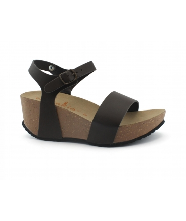 VEGAN BIO Abete Scarpe sandali Donna zeppe fascia fibbia vegan shoes