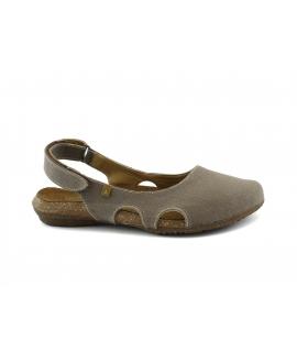 EL NATURALISTA Wakataua scarpe Donna ballerine strap regolabile vegan shoes