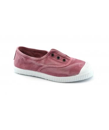 CIENTA rosa scarpe Bambina elastico tessuto slip on