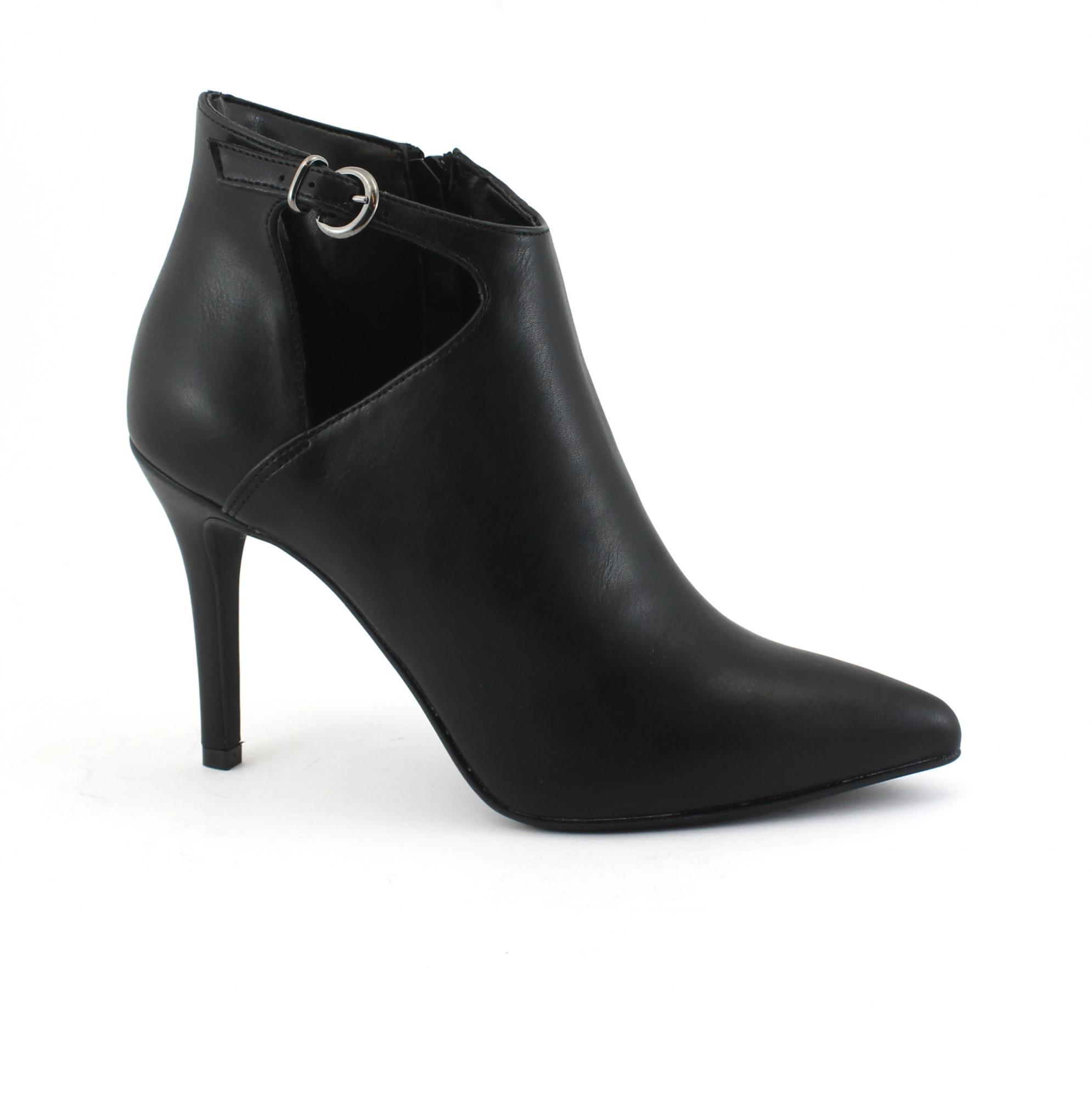 1e0414759be VSI Shoes Femme Chaussures à talons végétaliens avec bride zippée  Tronchetti Fabriquées en Italie - VeganShoes.it