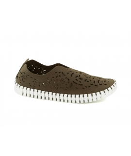 SKA ORIGINAL Orfeo scarpe Donna slip on forate vegan shoes