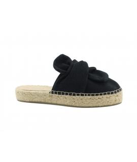 Scarpe Donna ciabatte cotone nodo juta vegan shoes