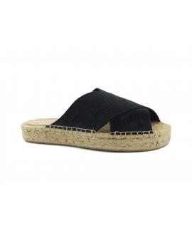 Scarpe Donna ciabatte PET riciclato incrocio juta vegan shoes