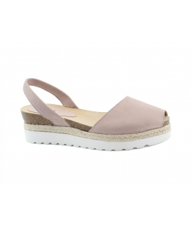 RIA scarpe donna sandali minorchine platform corda vegan shoes