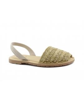 RIA scarpe donna sandali minorchine sottopiede imbottito vegan shoes
