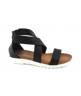 VEGAN BIO RITA sandali Donna intreccio zip tallone vegan shoes