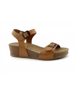 VEGAN BIO Ailanto Scarpe sandali Donna zeppe doppia fibbia vegan shoes