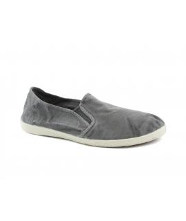 NATURAL WORLD scarpe Uomo Slip on Elastico Cotone Bio plantare estraibile vegan shoes
