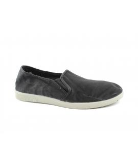 NATURAL WORLD scarpe Uomo Slip on Elastico Cotone Bio plantare estraibile eco vegan shoes