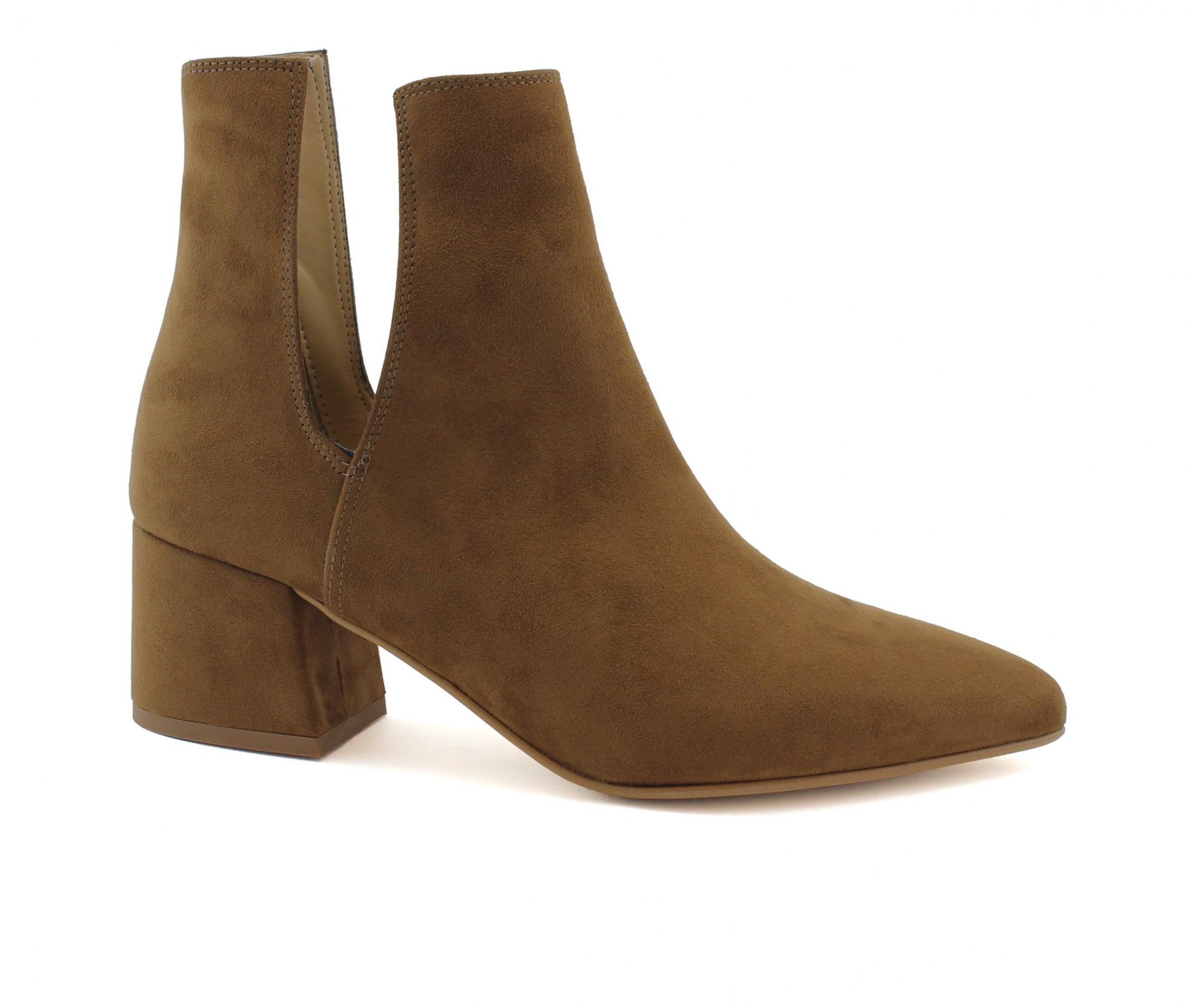 d7824823e1a7ea VSI Damenschuhe Mikrofaser-Ankle-Boots aus Nubukleder-Effekt vegane Schuhe  Made in Italy - VeganShoes.it