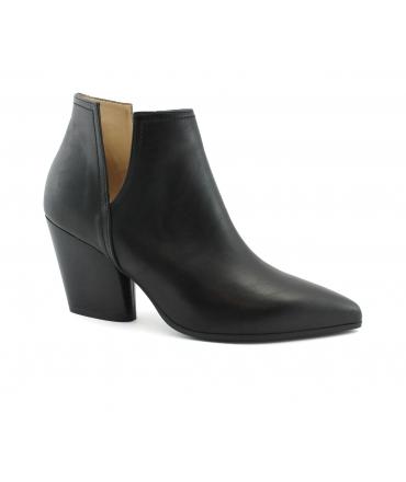 VSI Scarpe Donna Stivaletti microfibra tacco vegan shoes Made in Italy