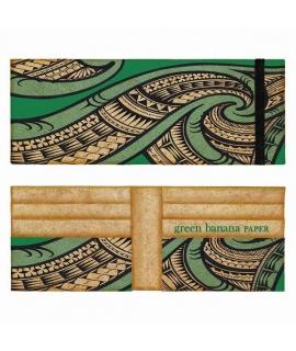 GREEN BANANA PAPAER portafoglio Uomo bifold fibra di banano vegan