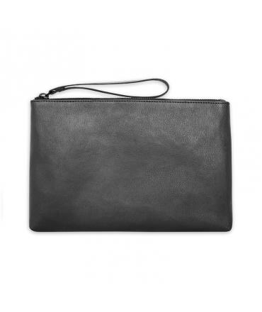 2a5a52df94 NUUWAI Telia Bag Woman zip clutch bag Apple skin vegan - VeganShoes.it