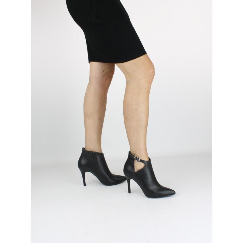 8597bd72a230e2 VSI Shoes Woman Tronchetti Zip Strap vegane Fersenschuhe Made in Italy. Tap  to expand
