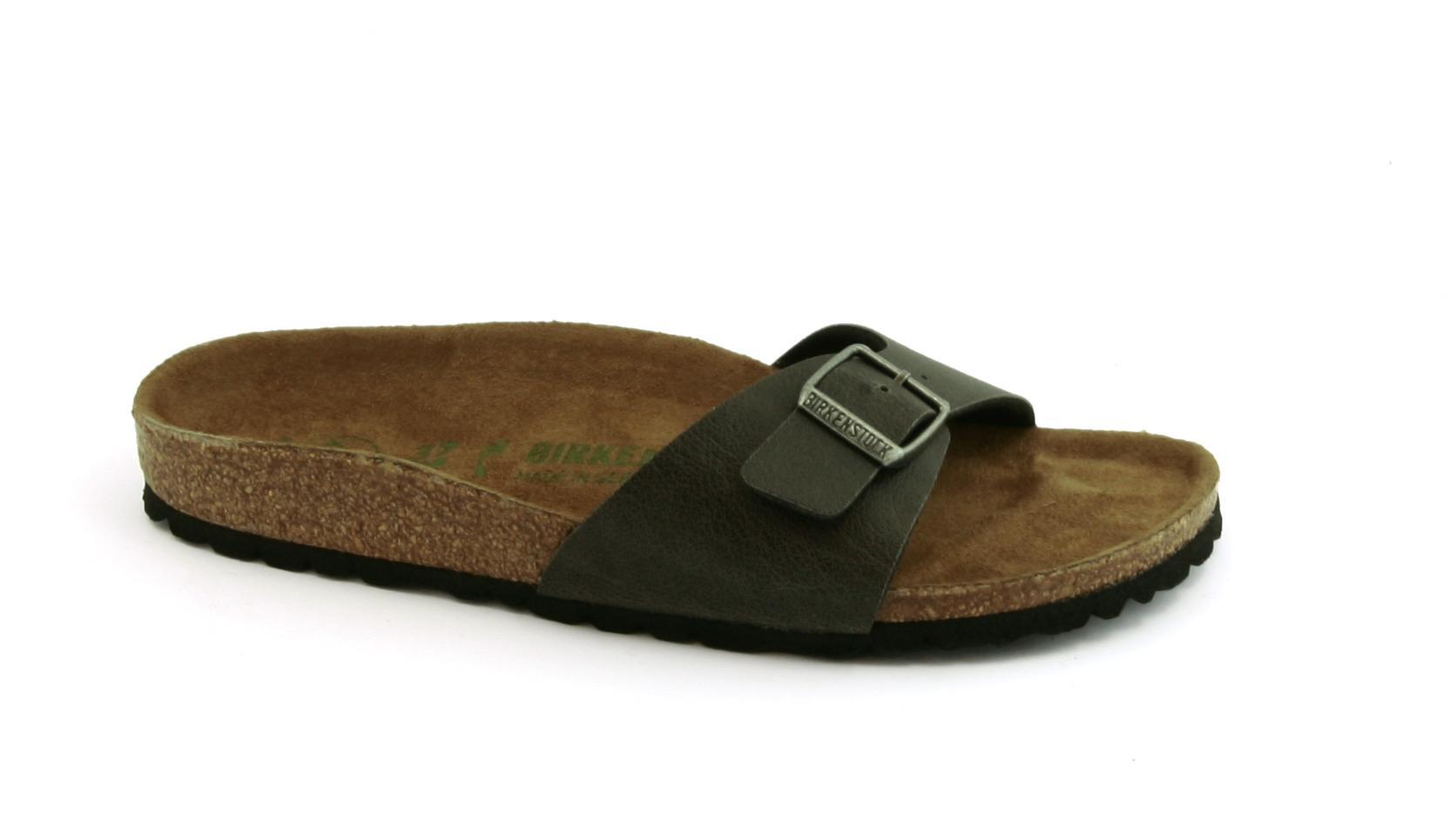 5350a6685a9b99 BIRKENSTOCK Madrid BS Hausschuhe Frauen schnallen vegane Schuhe -  VeganShoes.it