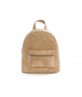 ARTELUSA Backpack Woman cork adjustable straps vegan waterproof zip closure