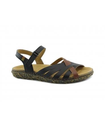 EL NATURALISTA Redes chaussures Sandales tressées pour femmes