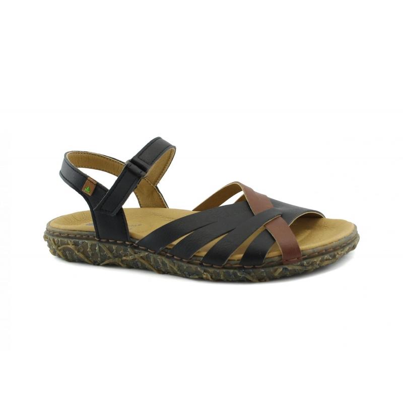 big sale 74d56 110f0 EL NATURALISTA Redes scarpe Donna sandali intreccio strap vegan shoes