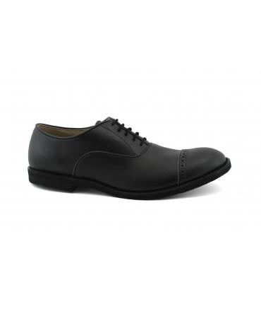 Chaussures homme FERA LIBENS en microfibre Oxford avec semelle en dentelle Vibram Fabriqué en Italie