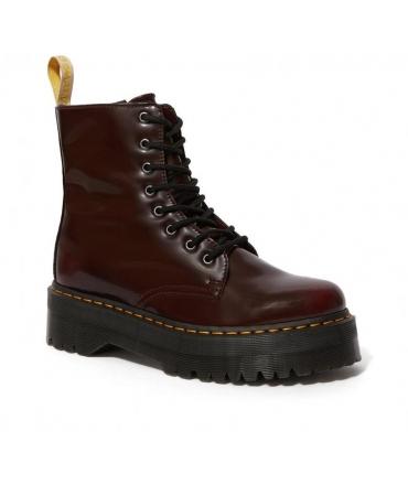 DR MARTENS V JADON II OXFORD RUB OFF amphibious Platform woman 8 holes zip laces vegan shoes