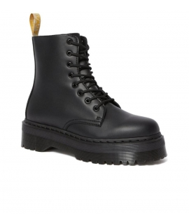 DR MARTENS V JADON II OXFORD RUB OFF amphibious Platform woman 8 holes zip laces vegan shoes