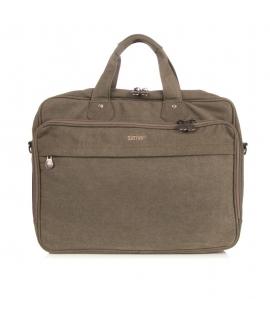 Unisex hemp Messenger bag adjustable removable shoulder strap vegan zip closure