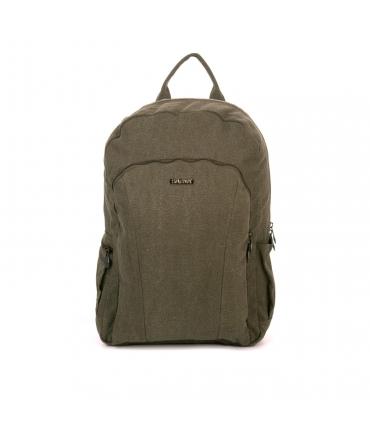 SATIVA Unisex backpack hemp holder adjustable padded shoulder straps zip closure vegan pockets