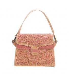 ARTELUSA Shoulder bag Woman cork adjustable waterproof vegan button