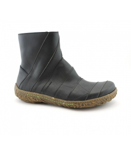 EL NATURALISTA Damenschuhe Beatles Nest recycelte vegane Schuhe mit Reißverschluss