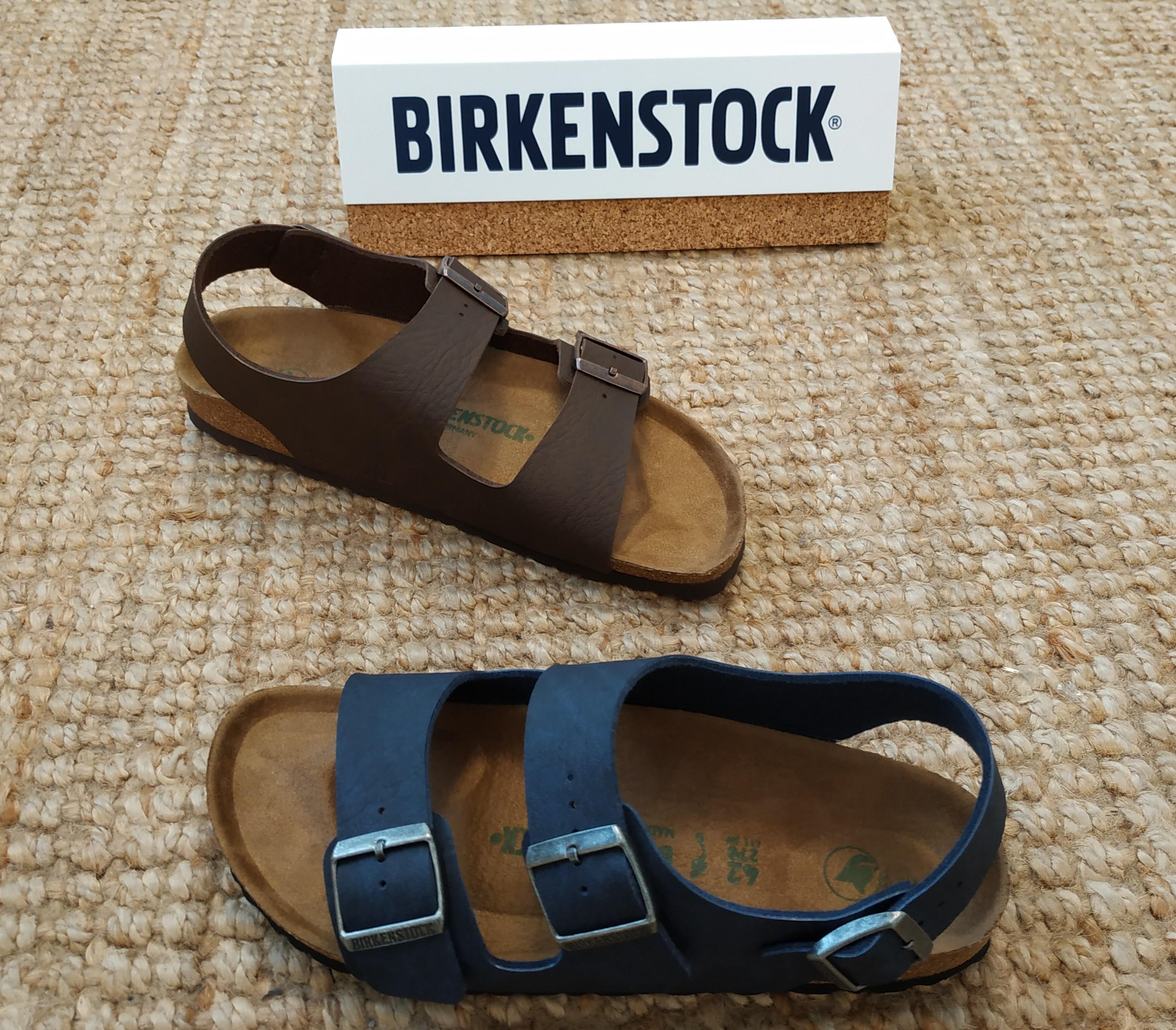 sandalo birkenstock uomo con cinturino