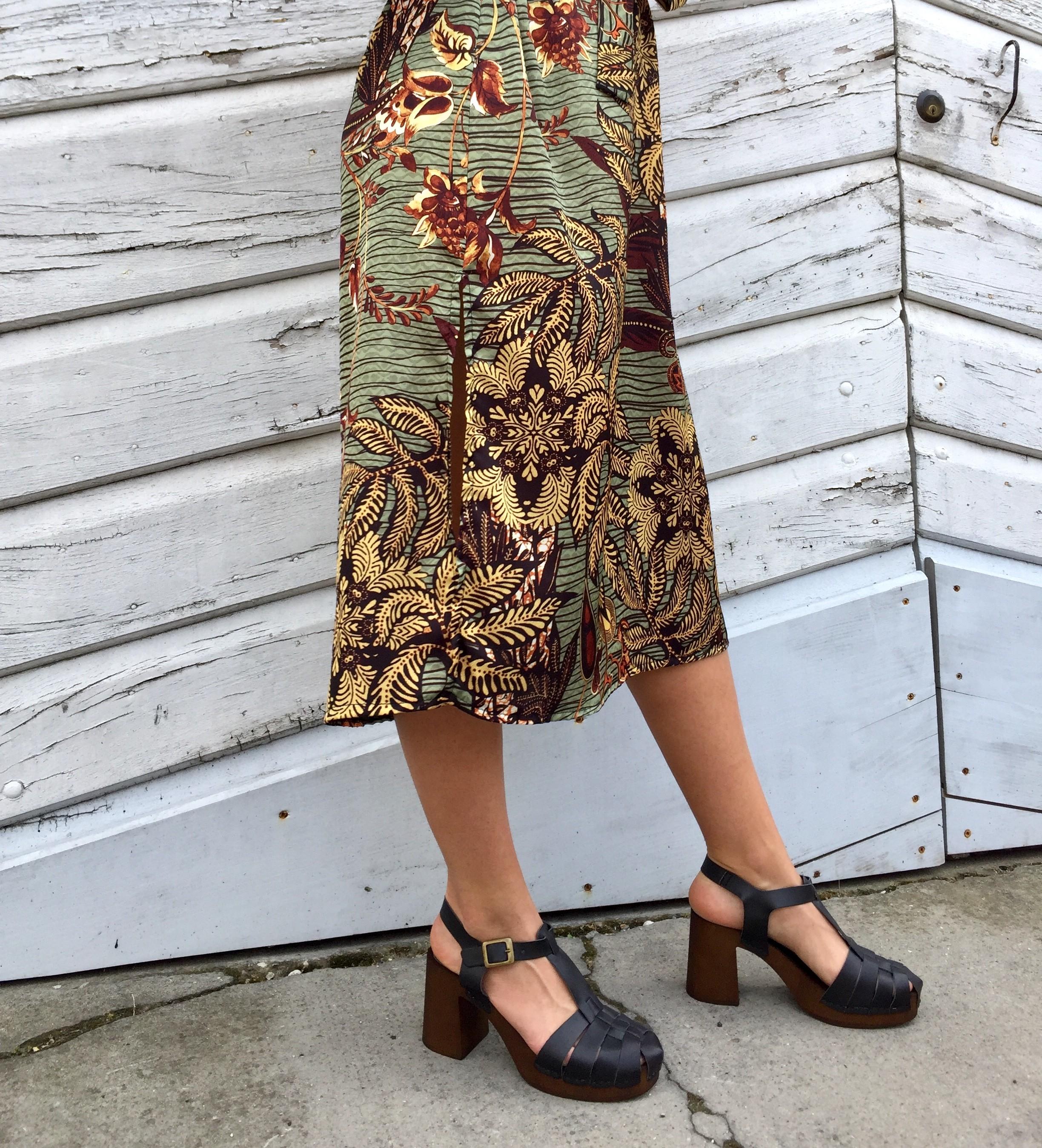 zoccoli donna vegan punta chiusa neri