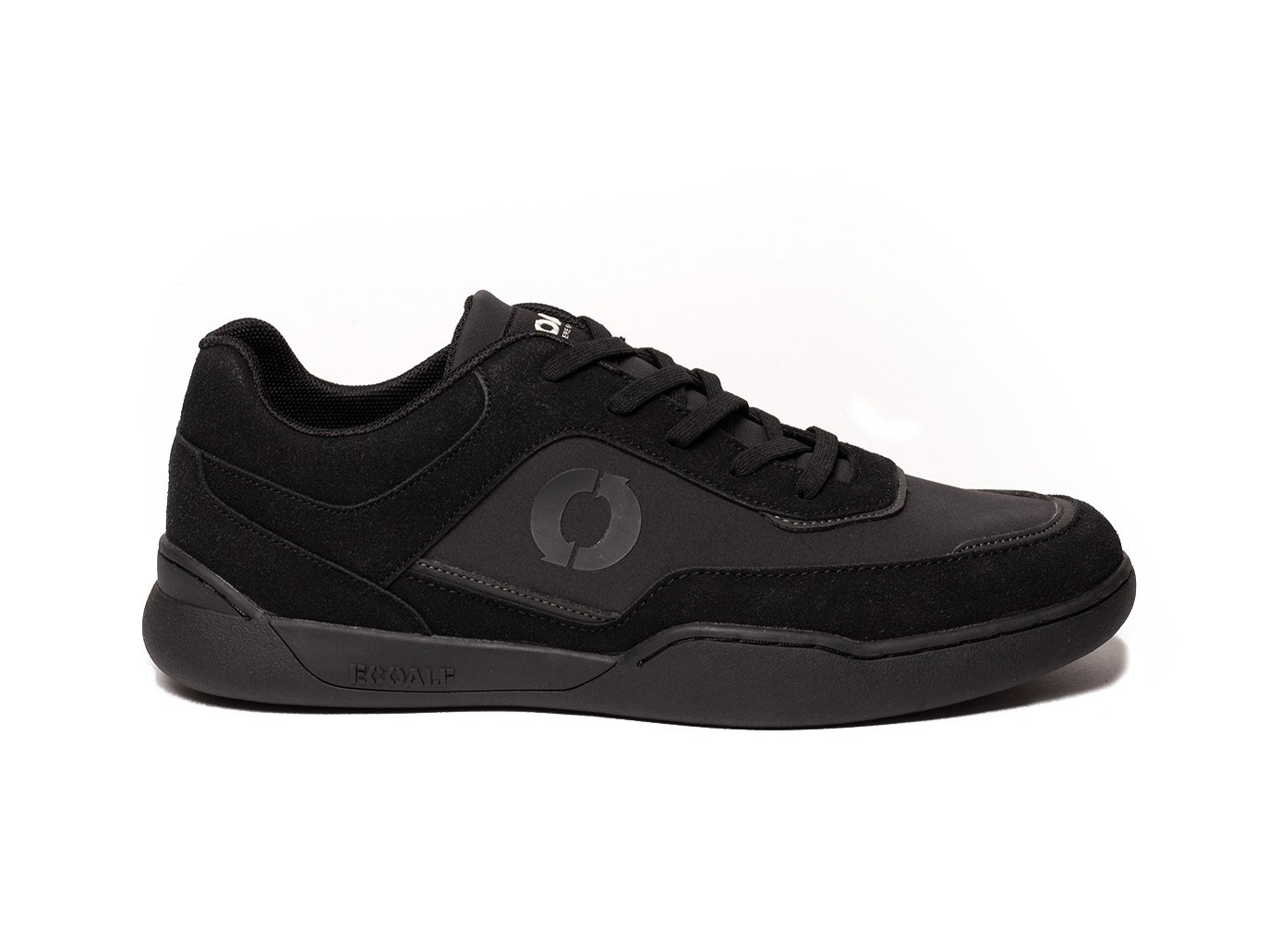 ecoalf class sneakers vegan impermeabili lacci nere