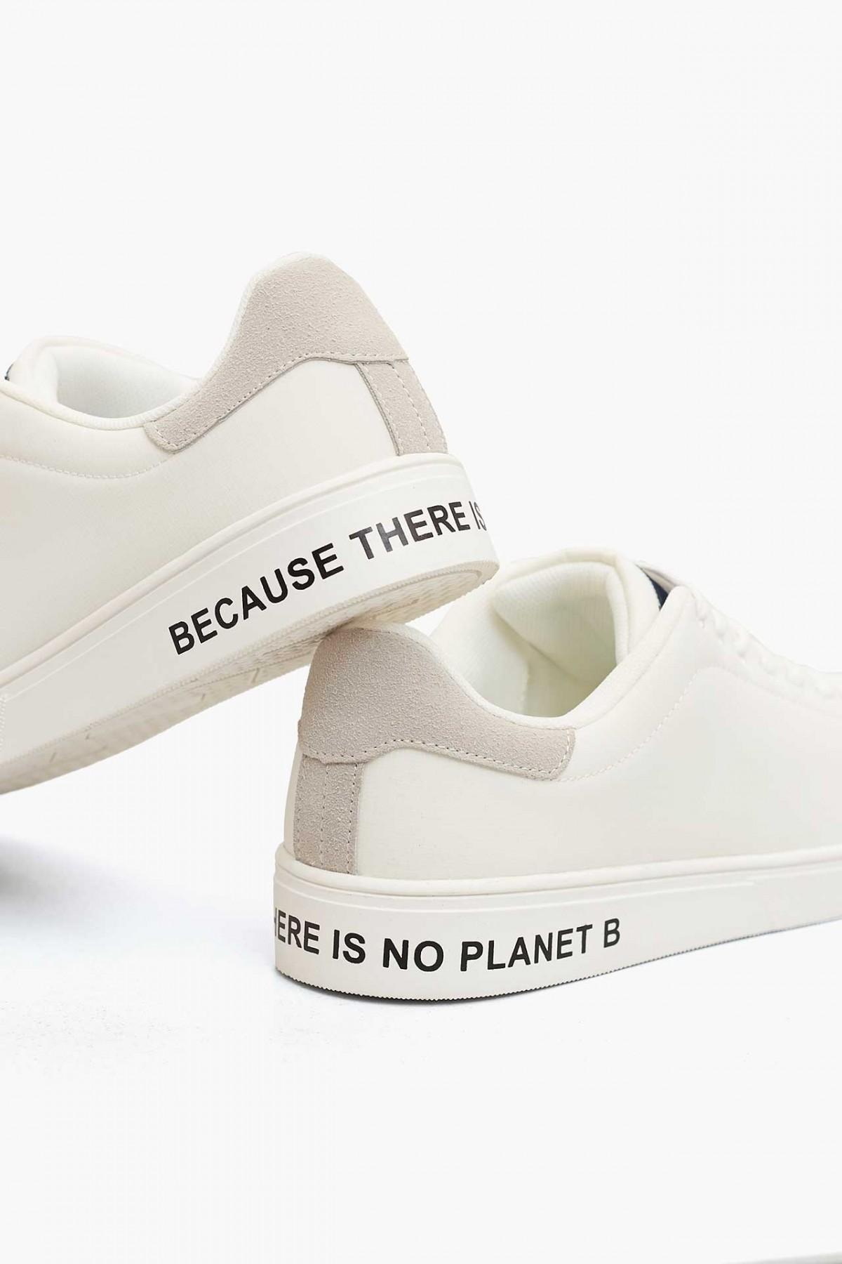 ecoalf sandford sneakers vegan bianco lacci riciclate